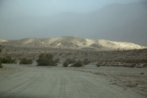 Picture of Anza-Borrego Desert State Park (U.S.A.): View of the sand dunes near Font's Point in the early morning