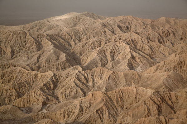 Picture of Early morning view of the badlands near Font's PointAnza-Borrego - U.S.A.