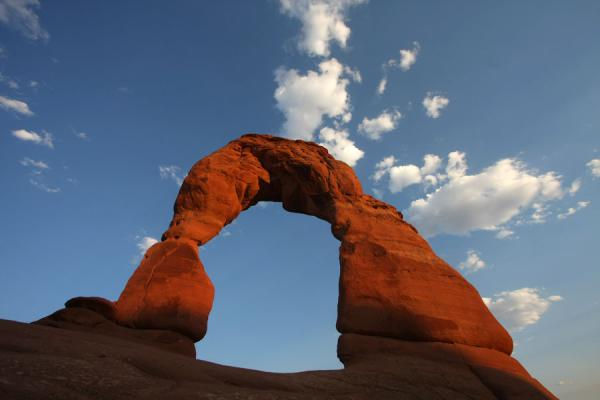 Delicate Arch at sunset | Arches National Park | United States