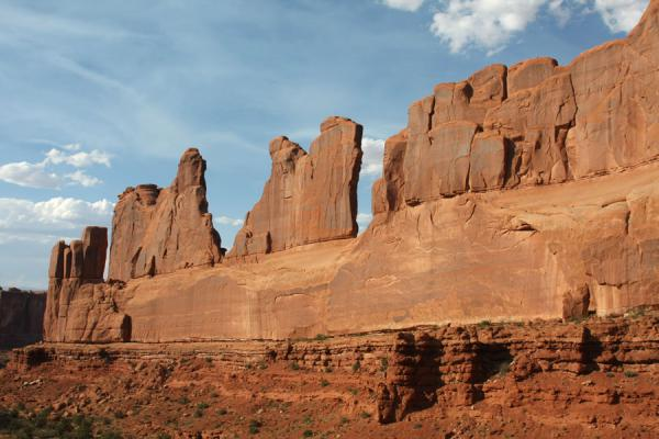 Park Avenue | Arches National Park | U.S.A.