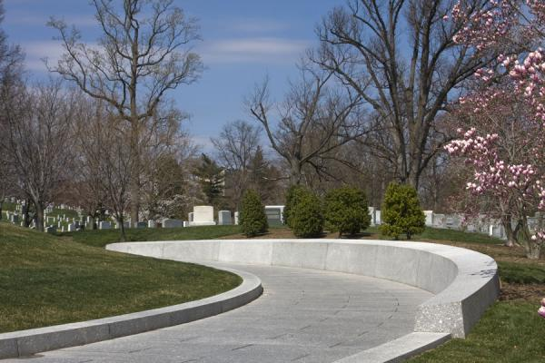 Street running through Arlington National Cemetery | Cementerio Nacional de Arlington | Estados Unidos