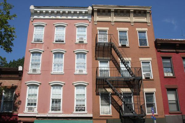 Foto van Typical architecture to be found in Brooklyn HeightsBrooklyn Heights - Verenigde Staten