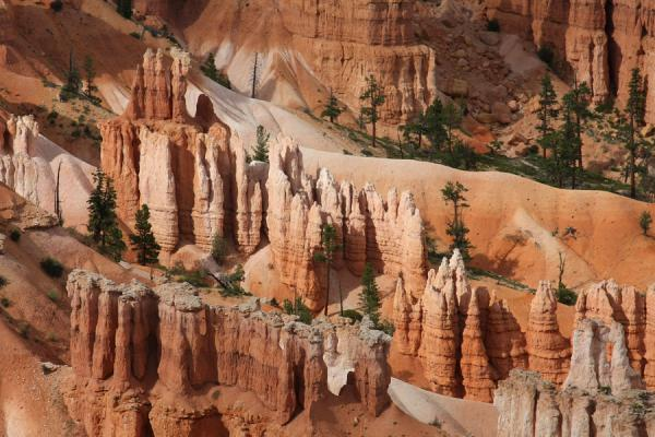 Close-up of colourful hoodoo formations | Bryce Canyon National Park | U.S.A.