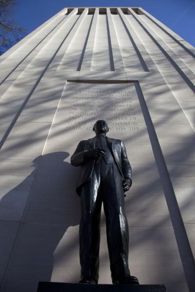 Picture of Capitol Hill (U.S.A.): Memorial to President Taft on Capitol Hill