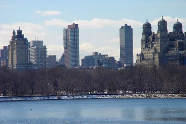 View on the city from within the park | Central Park | U.S.A.