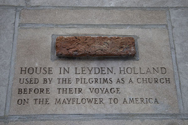 Brick from a house in Leiden, Netherlands | Chicago Tribune stones | U.S.A.