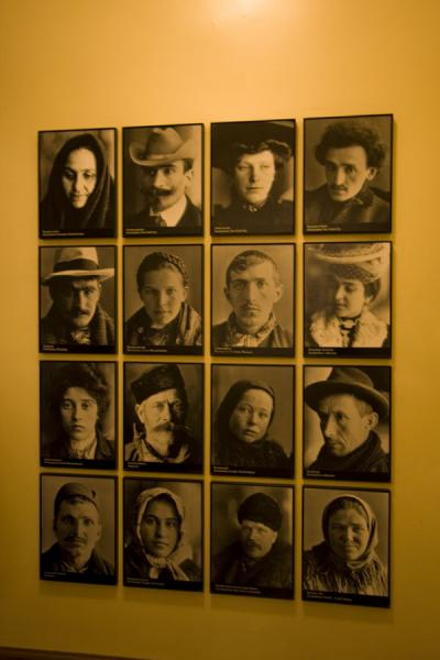 Faces of immigrants | Ellis Island | U.S.A.