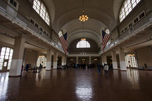 The Great Hall or registry room | Ellis Island | U.S.A.