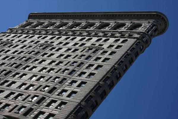 Flatiron Building seen from below | Flatiron Building | U.S.A.