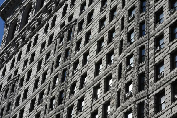 Foto van Windows of Flatiron BuildingFlatiron Building - Verenigde Staten
