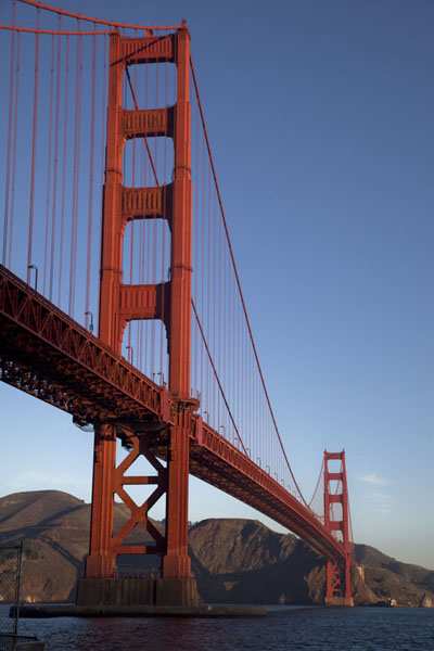 Early morning view of the Golden Gate Bridge | Golden Gate Bridge | U.S.A.