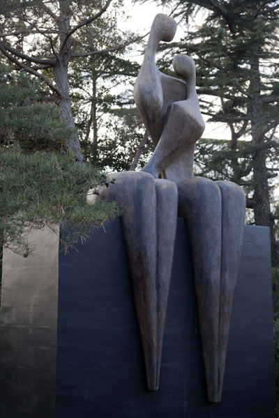 First Love, by Itzik Benshalom | Grounds for Sculpture | U.S.A.