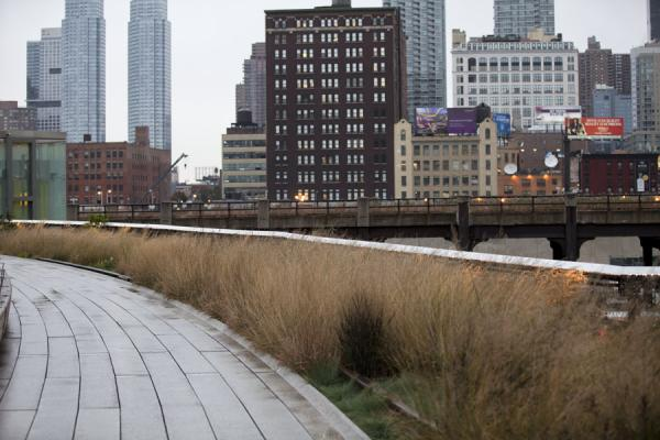 The High Line near 30th St, currently the northern end |  | 美国