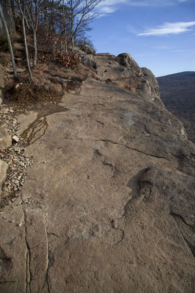 Rocky trail on the westside of Breakneck Ridge | Hudson Highlands | U.S.A.