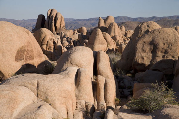 Rock formations at White Tank | Parco Nazionale del Joshua Tree | Stati Uniti