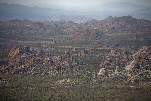 View of the northwestern part of Joshua Tree from Ryan Mountain | Parco Nazionale del Joshua Tree | Stati Uniti