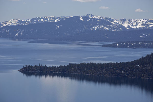 Foto van Sand Harbour peninsula on the east side of Lake TahoeLake Tahoe - Verenigde Staten