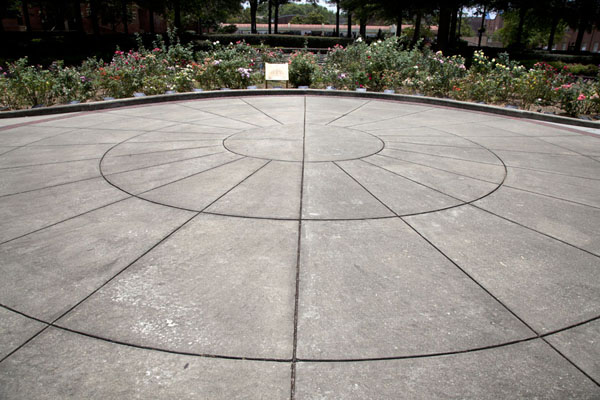 Picture of Martin Luther King Jr  Historic Site (U.S.A.): Messages from kids around the world can be found at this rose garden at the Peace Plaza outside the visitor centre