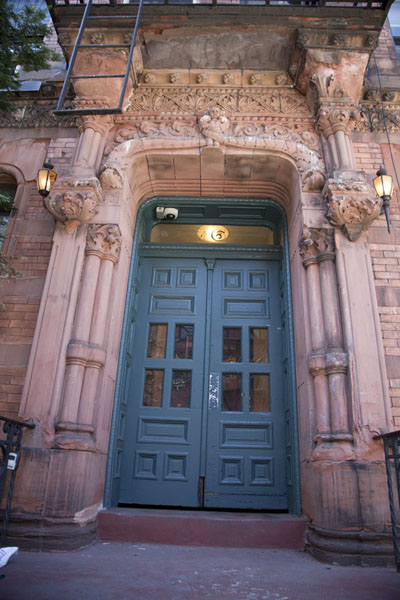 Grand entrance of one of the buildings on St Marks Place | Saint Marks Place | U.S.A.
