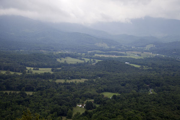Picture of View towards the west of Skyline Drive in the northern section of Shenandoah NP