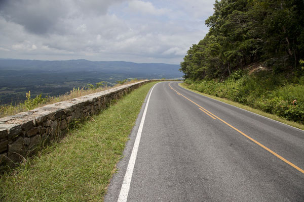 Skyline Drive in the far north of Shenandoah National Park | Shenandoah National Park | U.S.A.