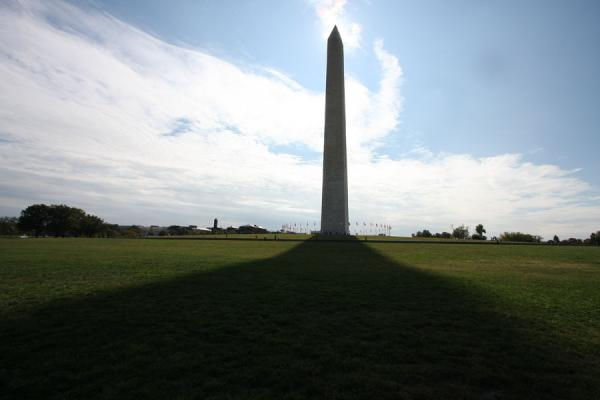 Shadow of Washington Monument | Washington Monument | U.S.A.