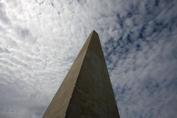 Picture of Washington Monument pointing to the cloudsWashington - United States