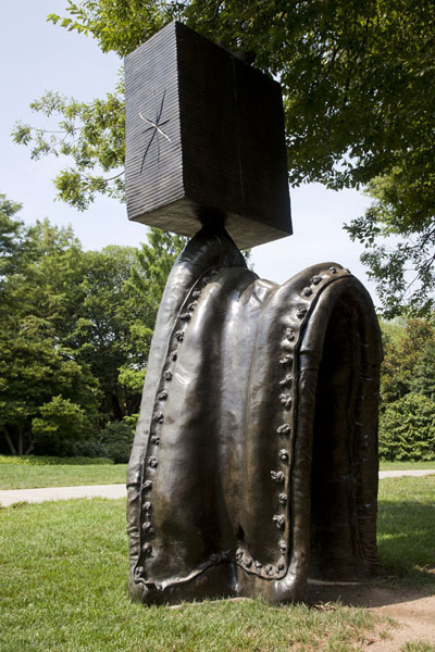 Picture of Personnage Gothique, by Joan Miró, in the Sculpture GardenWashington, DC - U.S.A.