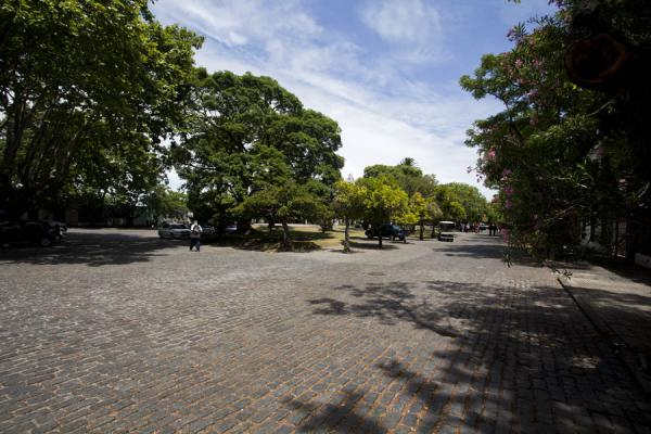 Picture of Plaza Mayor of Colonia del SacramentoColonia - Uruguay