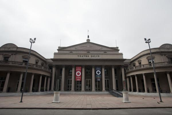 Picture of Teatro Solís in the old city centre of MontevideoMontevideo - Uruguay