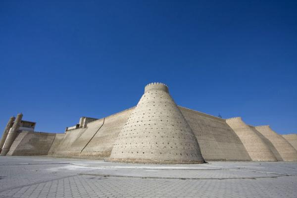 Picture of Bukhara Ark (Uzbekistan): Wall of the Ark