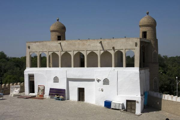 Picture of Bukhara Ark (Uzbekistan): Building inside the Ark
