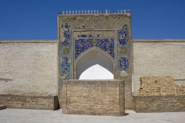 Picture of Bukhara Ark (Uzbekistan): Arched gateway to the Coronation Room