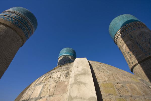 Picture of Char Minar (Uzbekistan): Small cupola and towers of Char Minar