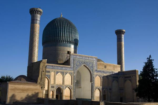 Picture of Late afternoon light on the Guri Amir mausoleumSamarkand - Uzbekistan