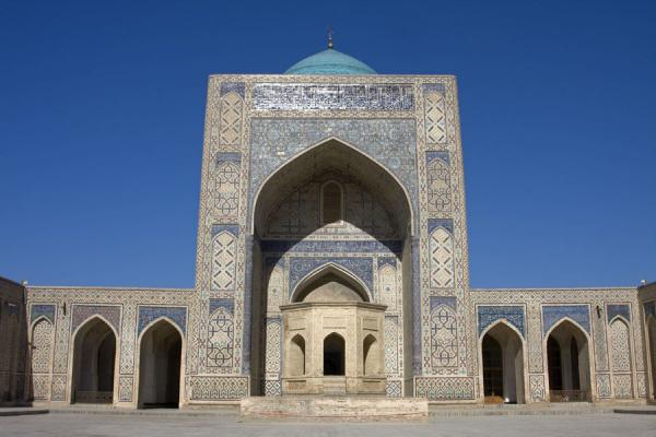 Picture of View of the Kalon mosque from inside the courtyardBukhara - Uzbekistan