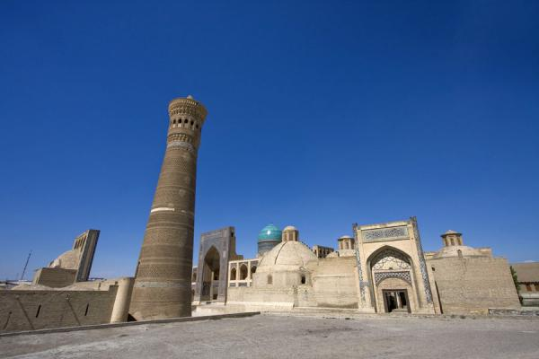 Picture of Kalon minaret and surroundingsBukhara - Uzbekistan