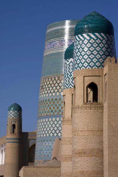 Picture of Khiva (Uzbekistan): Green and brown are dominant colours in Khiva
