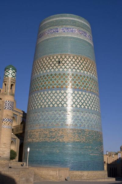 Kalta Minor minaret on the west side of Khiva | Khiva | Uzbekistan
