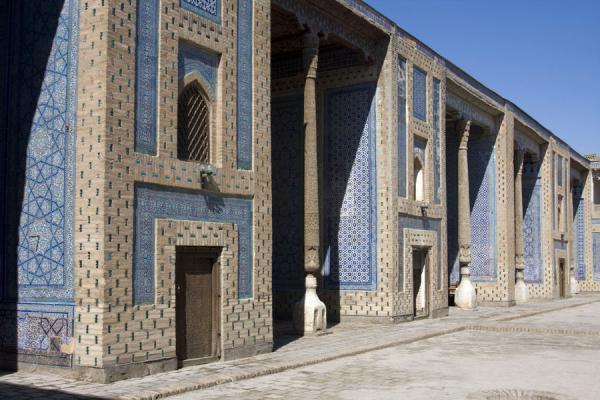 Picture of Khiva (Uzbekistan): Part of one of the marvellous buildings of Khiva