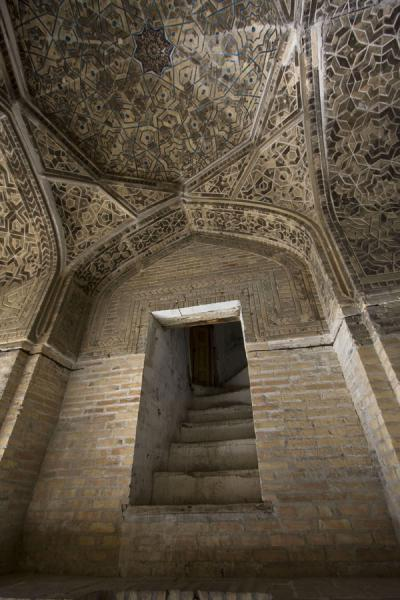 Picture of One of the stairs in the entrance hallBukhara - Uzbekistan