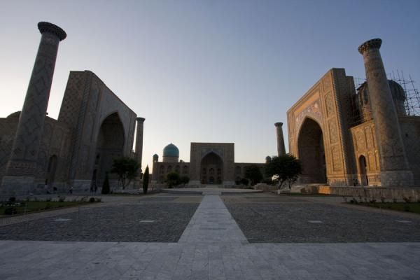 Picture of The Registan: a collection of three medressasSamarkand - Uzbekistan