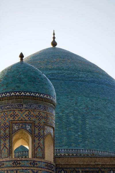 Picture of Minaret and dome of the Tilla-Kari medressaSamarkand - Uzbekistan