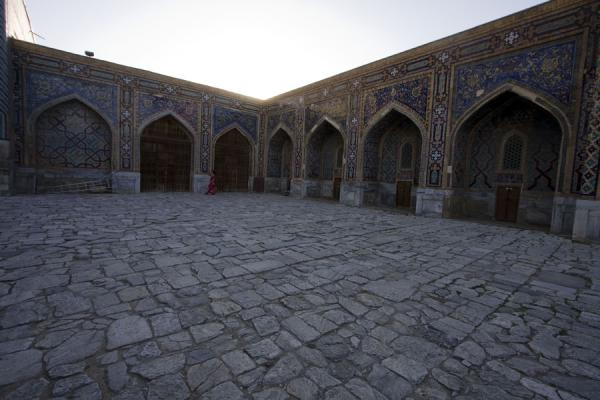 Photo de Courtyard of the Tilla-Kari medressaSamarcande - Ouzbékistan