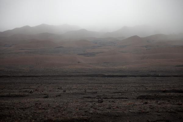 Foto de Barren hills at the outer slopes of Mount Marum volcanoAmbrym - San Vicente y las Granadinas