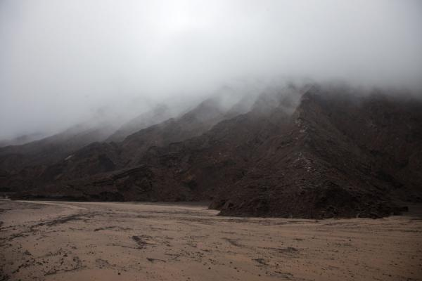 The flanks of Marum covered in a fog | Ambrym volcanoes | 发怒挖土