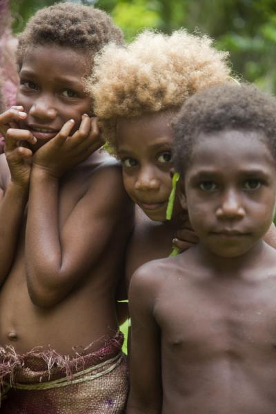 Three Big Namba kids | Mae Big Namba's | St Vincent et les Grenadines