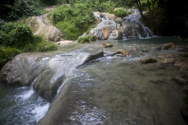 One of the many pools in Mele cascades | Mele Cascades | St Vincent en de Grenadines