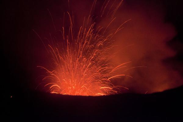 Explosion of Mount YAsur | Mount Yasur | Vanuatu