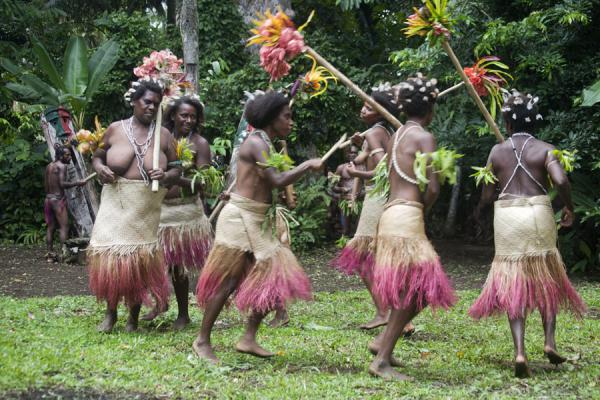 Picture of Vanuatu (Dance performed by Small Namba women)